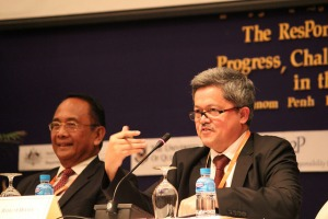 Mr Rafendi Djamin Indonesia's representative to the ASEAN Intergovernmental Commission on Human Rights (AICHR)